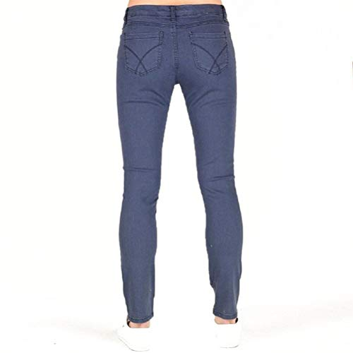 Marino Ajuste Skinny Waist Mujer 40 Ballater Azul Jeans Apretado Euro Crew uk Clothing 31