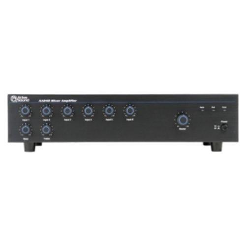 Atlas Sound AA240 Mixer Amplifier 240 Watt 6 Channel Bridge