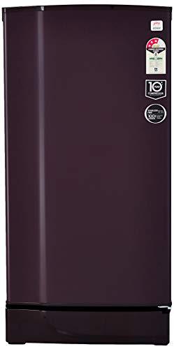 Godrej 190 L 3 Star ( 2019 ) Direct-Cool Single Door Refrigerator (RD 1903 EW 3.2 RYL WIN, Royal Wine)