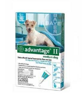 Advantage Ii Teal Medium 11 – 20lb 4pk, My Pet Supplies