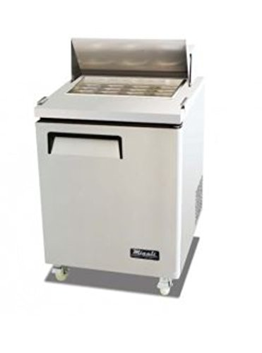Migali C-SP27-12BT-HC Competitor Series Refrigerated Counter/Big Top Sandwich Prep Table, 27.5
