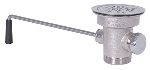 BK Resources BK-LWR-2 Lever Operated Twist Drain with 3.5