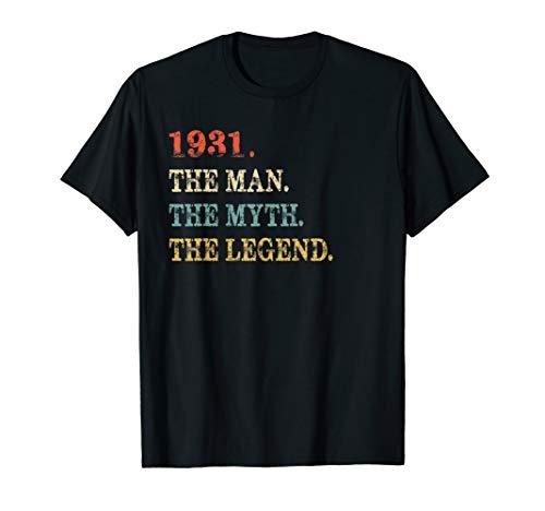 (Retro The Myth The Legend 1931 88th Birthday Gift 88 yrs old)