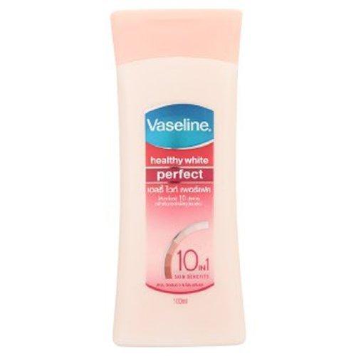 La Vaseline Blancs Sains Parfait Lotion 10 En 1 soins de la peau naturelle de la peau produits de blanchiment de Peau plus claire dans 2 Semaines (100 ML.)