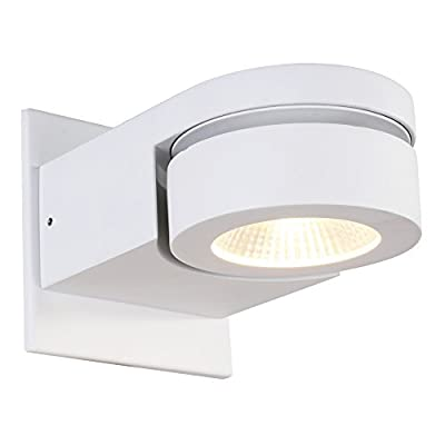 RUNNLY Led Wall Sconce Light Track Spot Black Lighting with Cree Chip 10W, Directional for Reading Staircase Hallway Office Commercial