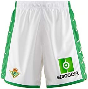 Real Betis - Temporada 2019/2020 - Kappa - Official Pantalón Corto ...