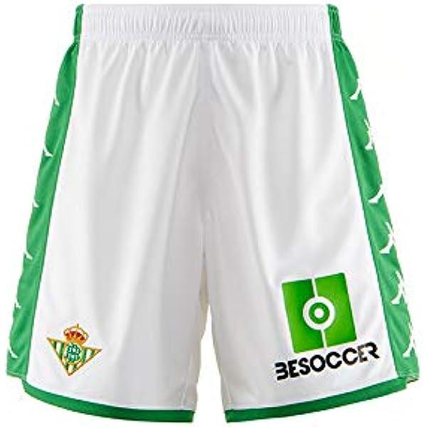 Real Betis - Temporada 2019/2020 - Kappa - Official Pantalón Corto, Niños, Neutro, 14Y: Amazon.es: Deportes y aire libre