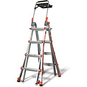 Little Giant Megamax 17 Ladder W Air Deck Extend To 15