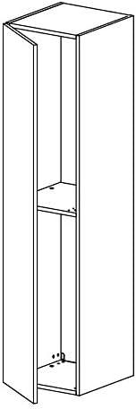 Bank Sideboard TV-Schrank Wohnwand Wohnzimmer LUK Furniture COLGANTE 150 cm Lowboard H/ängeschrank Wei/ß Hochglanz HG Fernsehschrank mit LED Beleuchtung und Push to Open System TV
