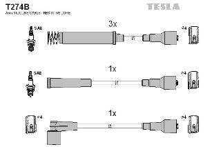 Tesla T274B Zü ndleitungssatz TESLA Blatná