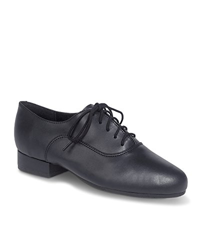 Capezio Hombres Overture Black Performance Oxfords 8 W