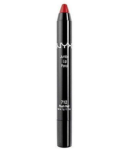 NYX Jumbo Lip Pencil Color JLP712 Plush Red (Cranberry red) -  B014LD27W0
