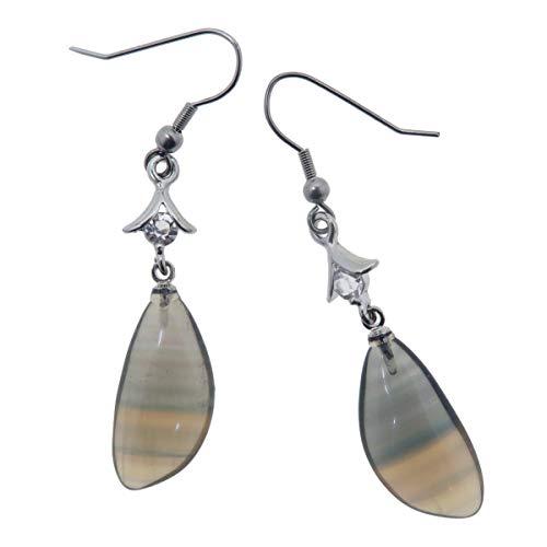 (Fluorite Earrings 2.3