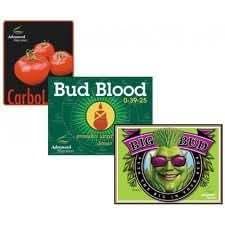 Nutrición avanzada nutrientes - Big Bud - Tri-pack, Bud sangre - bolsitas Carboload