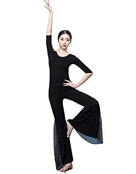 DESY Mujeres Danza del Vientre Traje Tops Pantalones ...