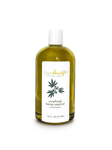 HEMP SEED OIL UNREFINED VIRGIN ORGANIC CARRIER COLD PRESSED RAW 100% PURE 16 ()