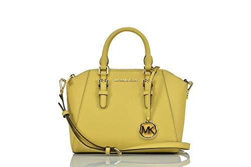 Michael Kors Ciara Medium Saffiano Leather Messenger - Dusty Daisy (Garantie Michael Kors)