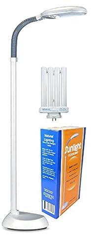 Baltoro-Power SL5728G Floor Lamp Natural Spectrum Sunlight (Floor Lamps For The Office)