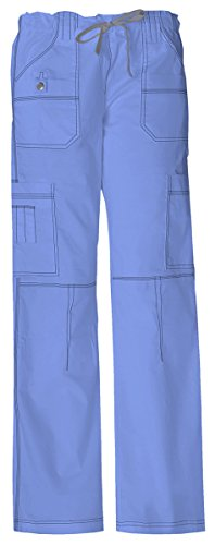- Dickies Women's Tall Youtility Drawstring Cargo Pant_Ceil Blue_Medium,857455T