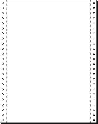 Sigel 12237 - Carta in modulo continuo autocopiante per rotociclo, 12'' x 240 mm (altezza formato A4), 70 g, 2000 fogli con fori laterali