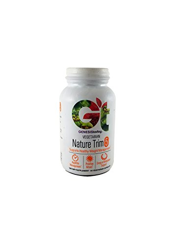 Genesis Today Nature Trim 5 – Stack with Top Weight Management Ingredients – Superfoods including Garcinia HCA, Green Coffee, Saffron and more – 90 Vegetarian Capsules – 3 Caps Per Serving Review