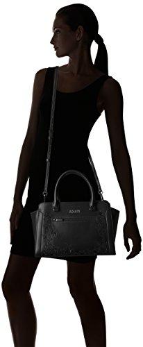 Cole Kenneth Victoria womens Black Handbag Satchel Reaction 1xO7qH4