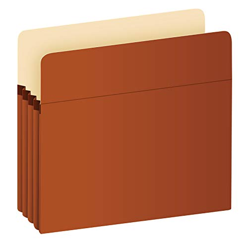Pendaflex Expanding File Pockets, Letter Size, Redrope, 3.5