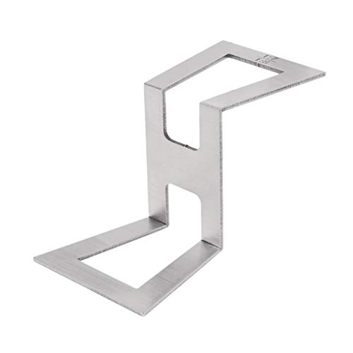 Abnana Dovetail Marker Template Stainless Steel Dovetail Gauge Size 1:5-1:6 and 1:7-1:8
