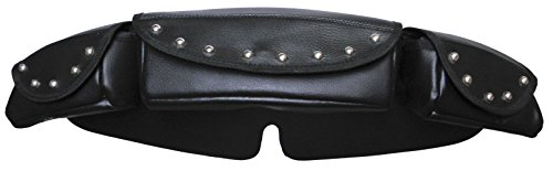 - Vance Leather Low Profile Studded Windshield Bag