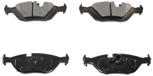Bmw 733i Brake Pads - DuraGo BP279 MS Rear Semi-Metallic Brake Pad
