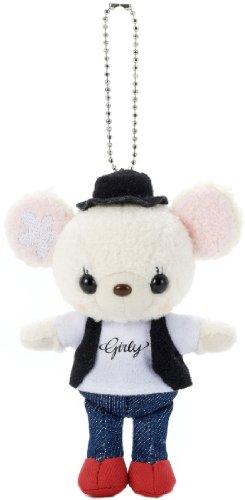Pretty Girly Bear boyfriend ball chain (japan import)