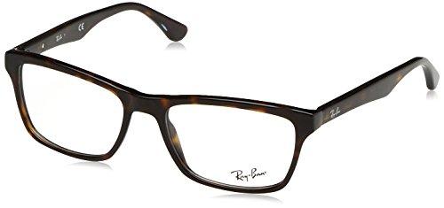 Ray-Ban RX5279 Square Eyeglass Frames, Tortoise/Demo Lens, 53 ()