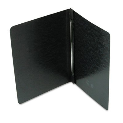 Side Opening PressGuard Report Cover, Prong Fastener, Letter, Black, Total 100 EA, Sold as 1 Carton