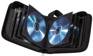 Hama - Estuche porta CD para 20 CD/DVD/Blu-rays, portafolios para guardar CD, negro: Amazon.es: Electrónica