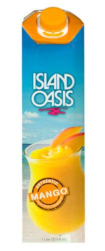 Island Oasis Mango Beverage Mix, 32 oz Shelf Stable