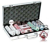 Royal Flush Big Number Poker Set, 11.5g