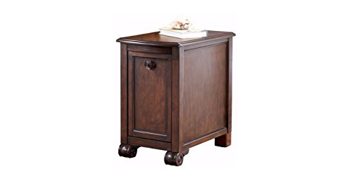 Rectangular Chairside End Table - 3