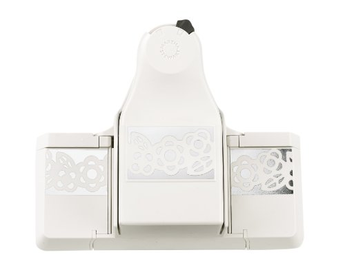 Martha Stewart Crafts 2-in-1 Deep Edge Paper Punch, Layered Rings - Edge Paper Punch
