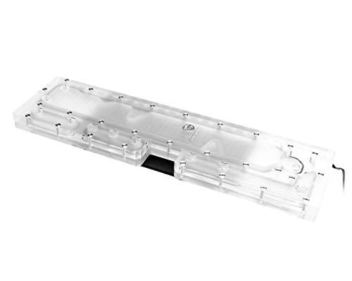 Bykski Distro Plate - TT Core P3 - PMMA w/ 5v Addressable RGB (RBW) (RGV-TT-P3)