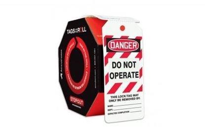 - Danger Tag, 6-1/4 x 3 In, Cardstock, PK250