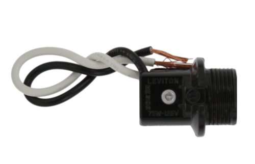 Leviton 10032-200 Candelabra Base, 75W-125V Incandescent Lampholder