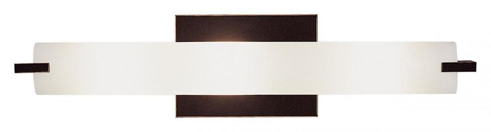 George Kovacs P5044-37B, Tube 3-Light Bath Fixture, Dark Restoration Bronze