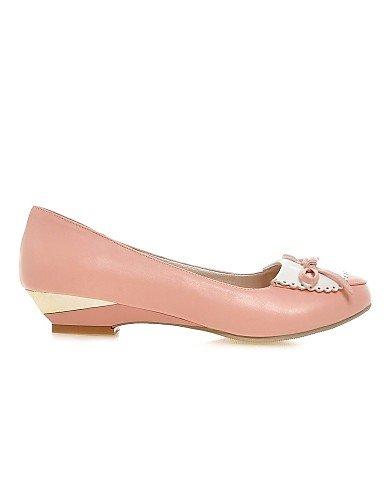 Rosa Uk3 us10 5 Casual De 5 Uk8 Beige Semicuero Eu35 Zapatos Cuñas Beige Blanco us5 Mujer Pink Bajo Eu42 Tacón Cn43 Planos Zq Cn34 TBfnOzq0x