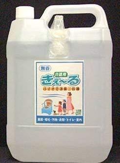【大容量】バイオで消臭 抗菌 肌に触れても安全 きえる介護用 バイオ消臭液 無香 特大サイズ 4L ×2個 B07R3ZSQP2