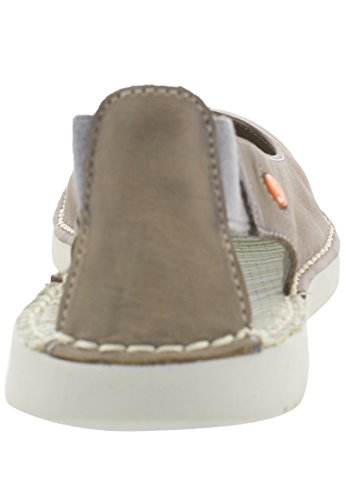 Mujer con Taupe Tho456sof Washed Tobillo Beige Tira para Softinos de Bailarinas qgOwx8ApU