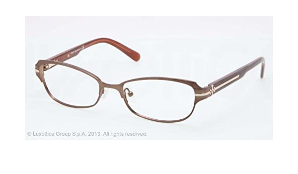 4d95d09fccf Amazon.com  TORY BURCH Eyeglasses TY 1028 345 Taupe 52MM  Beauty