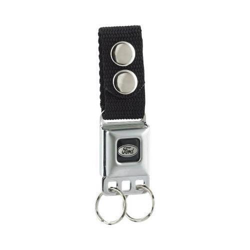 Ford Emblem Seat Belt Buckle Style Keychain (Seat Belt Buckle Emblem)