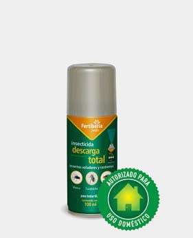 Fertiberia Insecticida Jardin Descarga Total 100ml
