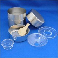 Made in Japan Stainless-steel Green Tea Strainer/Container Set