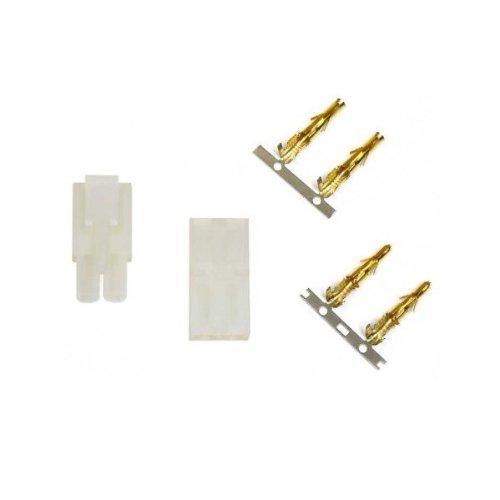 Hobby People Tamiya Plug Set (M&F) With Pins (Unwired)